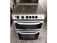 CANNON 55CM WIDE GAS COOKER WHITE EXCELLENT CONDITION, 4 MONTH WARRANTY