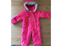 Winter suit for baby girl size 6-9M