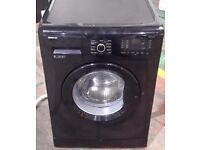Beko 9kg 1300 spin washing machine in black