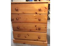 PINE CHEST OF DRAWERS **£20 CHEAP FOR QUICK SALE**