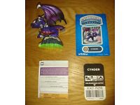 Skylanders Spyros Adventure Figure Cynder As New Condition