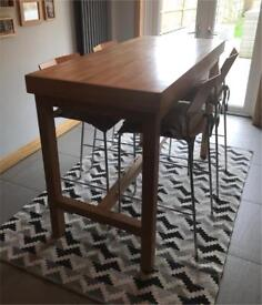 Bar Table & 4 Bar Stools