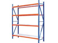 HEAVY DUTY WAREHOUSE OR GARAGE RACKING 300KG udl SHELVES