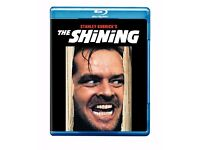 The Shining (1980) COMPLETE VERSION Blu-ray, like new!