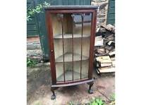 WANTED vintage corner display unit