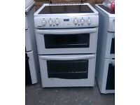 6 MONTHS WARRANTY New World 60cm, double oven electriccooker FREE DELIVERY