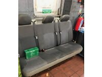 3 seats for rear of any van
