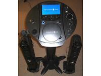 Singing Machine iSM1030BT Bluetooth KARAOKE Music System
