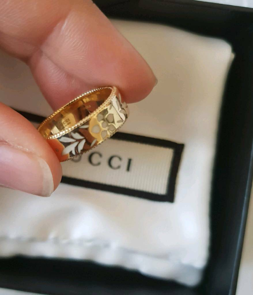 912e4fb21 Gucci 18ct Gold Icon Blossom Ring | in Leyton, London | Gumtree