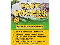 Fast Movers (A cheap reliable MAN and Van Services), BULKY WASTE CLEARANCE , HOUSE/OFFICE REMOVALS ,