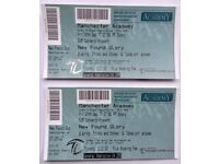 New Found Glory 2 x Tickets Manchester Academy Friday 29th September 2017