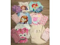 Girls Age 3-4 Pyjamas