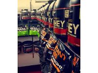 Protein/Supplement Store For Bodybuilding And Health And Fitness. Based In Digbeth Cheap Items