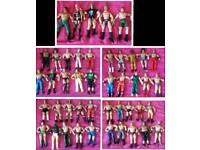 45x wwe jakks Pacific wrestling figures bundle wrestlers 1999-2005