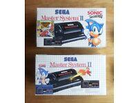 Sega Master System II consoles - retro bundle lot