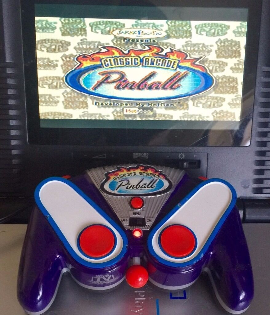 CLASSIC ARCADE PIN BALL GAME CONSOLE / PLUG AND PLAY