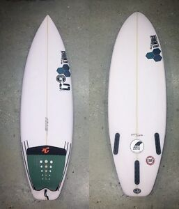 Channel Island Surfboards Black&White Model 5'8 Burleigh Heads Gold Coast South Preview