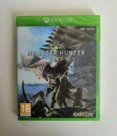 [New/Sealed] Monster Hunter World Xbox One