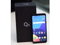 LG Q6 32GB Black Sim Free As New