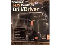 W Wicks 14.4v cordless drill/Driver