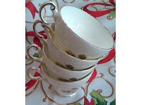 regency bone china cups