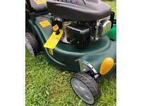 NEW self propelled lawnmowers FREE local delivery & fuel container solid plastic deck 98.5cc mowers