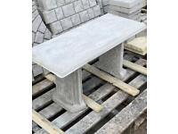 •New• Stone / Concrete Garden Bench