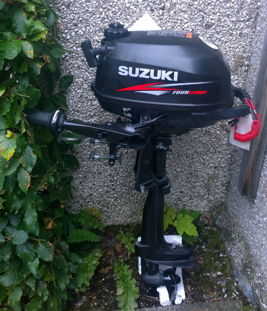 Suzuki Df2 5 Outboard Engine Four Stroke In