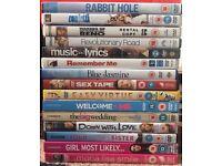 Selection of 15 random DVDs