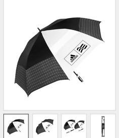 Adidas Golf Umbrella + Extra Free Sport Umbrella