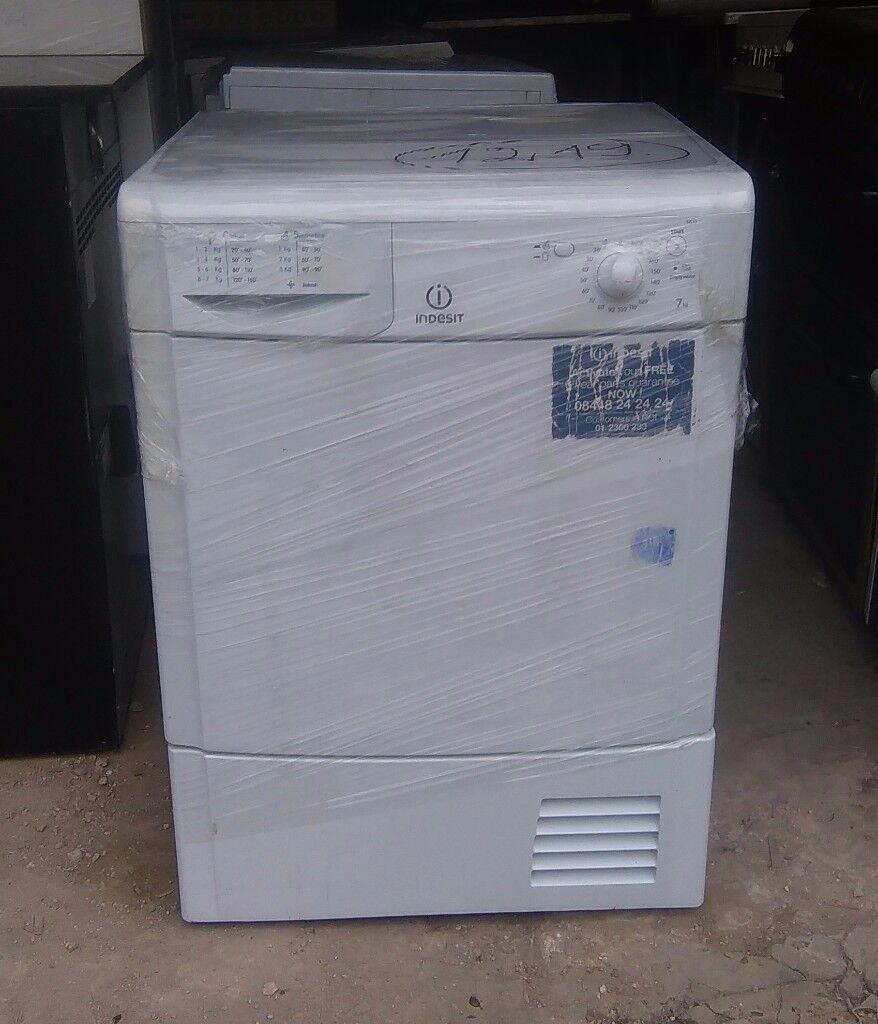 FREE DELIVERY Indesit 7KG condenser tumble dryer WARRANTY