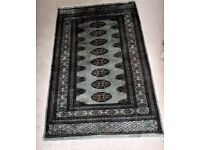 GENUINE 26 YEARS OLD 100% WOOL, HAND KNOTTED PAKISTAN BOKHARA RUG