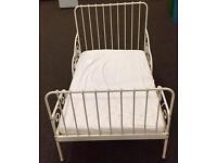 IKEA MINNEN cot bed plus mattress £50