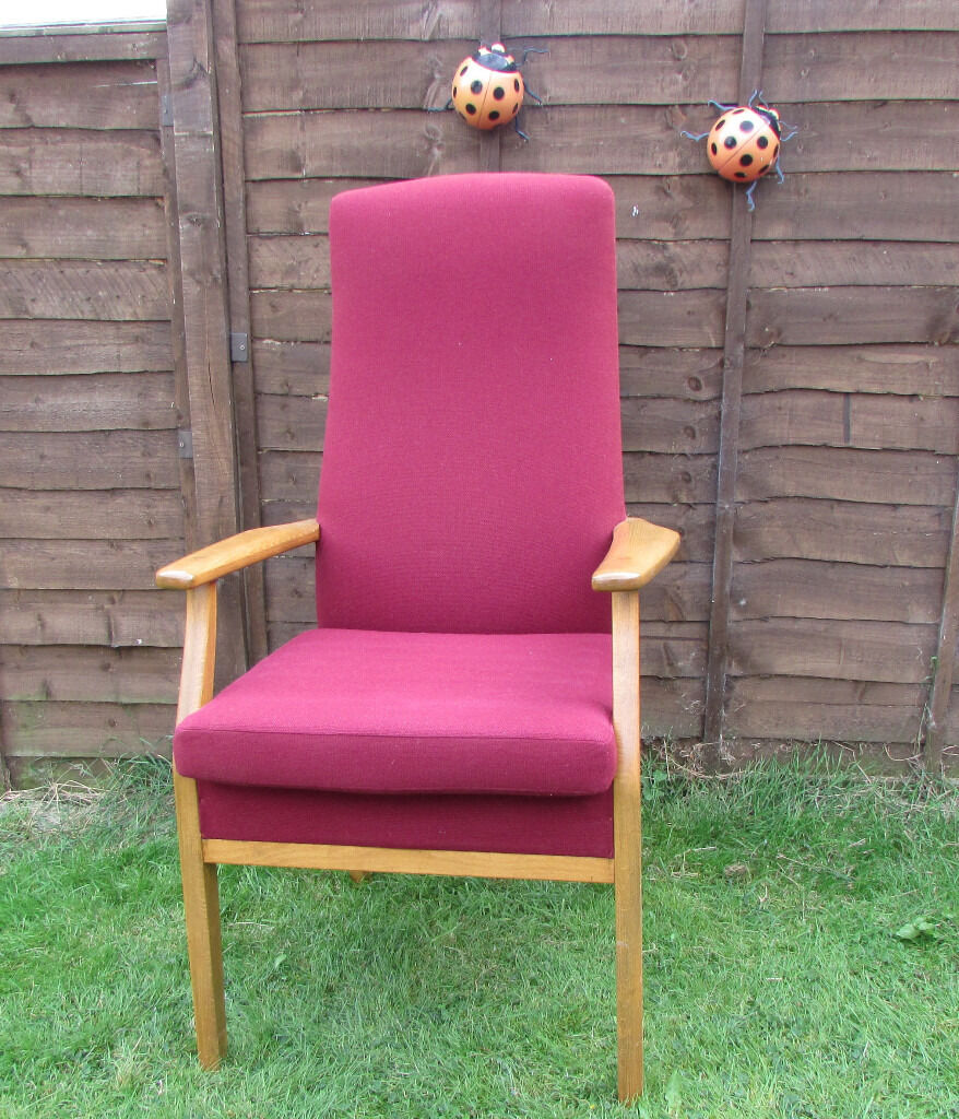 Orthopedic Chair Elderly Care Home Hospital Chair In Excellent Condition  PARKER KNOLL