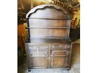 Vintage oak Dutch dresser for sale  Southville, Bristol