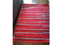 Next striped rug, unused