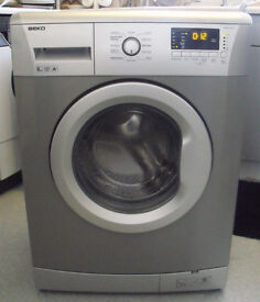 Beko WMB61431 Washing Machine 1400 Spin 6KG Silver