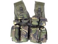 Mil-Com Kids Assault Vest Dpm Woodland