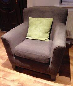 **STILL AVAILABLE** IKEA Grey Chair - EKENAS Armchair