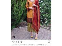 Maria B embroidered shalwar kameez - 2018 collection/unstitched