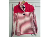 Joules button up sweatshirt