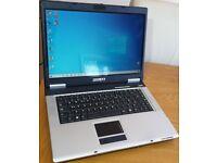 Basic 15.6 inch Windows 10 laptop with Microsoft Office DVD Drive WiFi