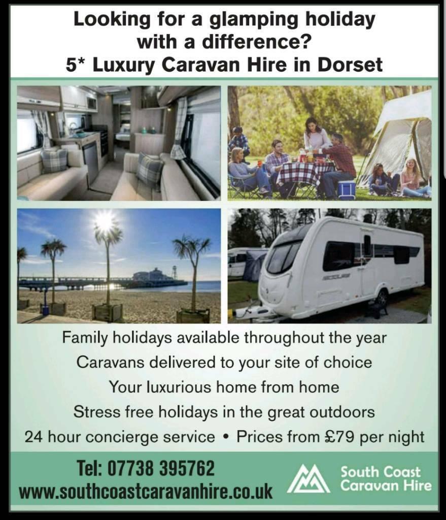 a9bd78339e Luxury 5  Touring Caravan Hire. Bournemouth