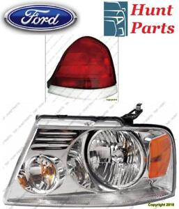All Ford Head Lamp Tail Headlight Headlamp light Fog Mirror Phare Avant Arrière Antibrouillard Lumière Brouillard Miroir