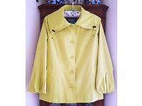Ladies M & S Per Una Lime Green Lightweight Jacket Size 12 - UNWORN