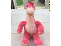 Build a bear / bear factory pink dinosaur apatosaurus