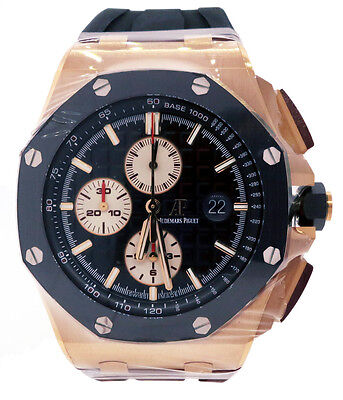 $39500.00 - Audemars Piguet Royal Oak Offshore 44mm Rose Gold 26401ro.oo.a002ca.01