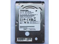 """Toshiba MQ01ABF050 500GB 2.5"""" HDD"""