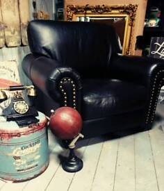 Gorgeous leather chair with stunning