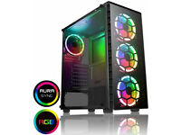 Extreme Gaming PC - i5-9600k + Liquid Cooler, GTX 1660 (RTX opt), 16GB RAM, 250GB NVMe, 1TB HDD